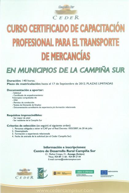 Certificado Aptitud Profesional Aptitud Profesional Para